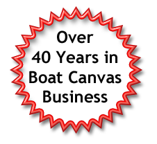 40 years boat canvas experience